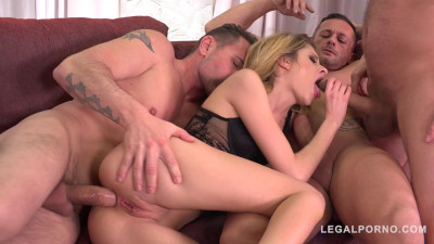 Ultra Nympho Rebecca Volpetti the Anal Gangbang of her Dreams (2019)