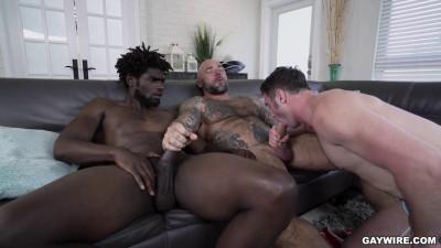 Nude Beach Threesome