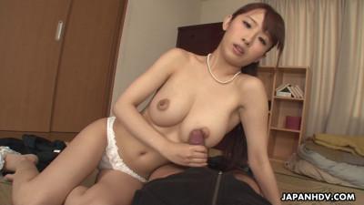 Yui Misaki — Horny Busty Wife Sucks Cock (2020)