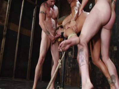 Dungeon Of Cum - Redux Nikki Sexx - Bondage Sex Party