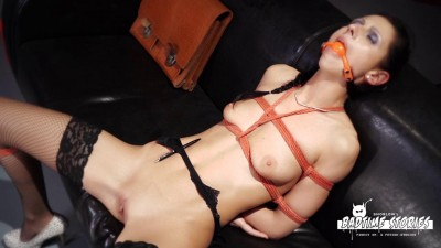 Hot German slave babe July Sun gets tied and tortured in intense