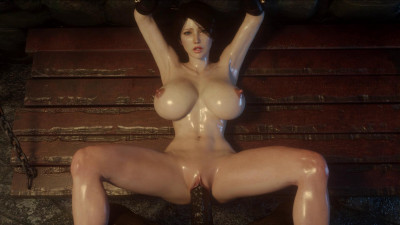 Busty Girl Banged By Big Monster