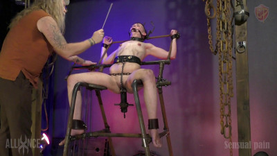 Description SensualPain com scene 779 Chair of Vulnerability Abigail Annalee 1080p