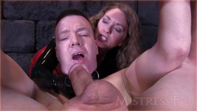 Mistress T - Extreme Humiliating Bound Milking