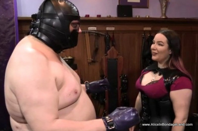 Shiny Pet Control — Rubber Sleepsack Chastity — Ruined Orgasm