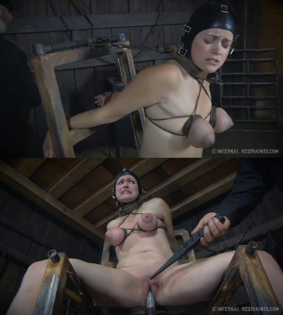 Tight bondage, spanking and torture for two sexy bitches part1