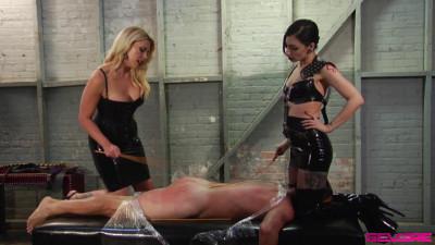 Mistress Bella Bathory, Cybill Troy - Double Whip Scene 2