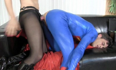 Catwoman Fucks and Milks Superman