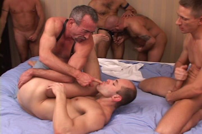 Dawson Cream Paty With Gangbang