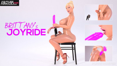 load dildo new ass (Affect3D - Brittany's Joy Ride - Puppet Master).