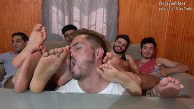 Jocks Feet Buffet They Are Back Masculine Handsome and Extra Tasty
