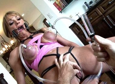Vacuum Torture Milf Shayla Humiliated