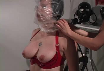 GBreathless - latex, hood, video.