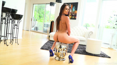 Brunette Beauty Aidra Fox Takes His Big Dick in Every Hole