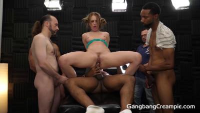 Daisy Stone – GangBang Creampie
