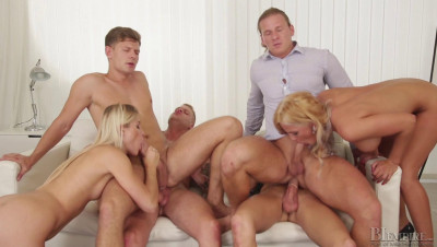 Description Bisexual Gangbang Party