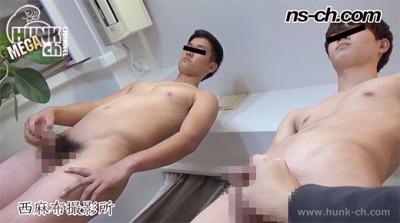 男経験0の体育会男子たち(180cm83kg19・173cm63kg19)