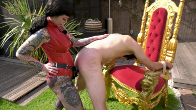 Mistress Patricia: Spitroasting Our Latex Barbie ft Goddess Slavena