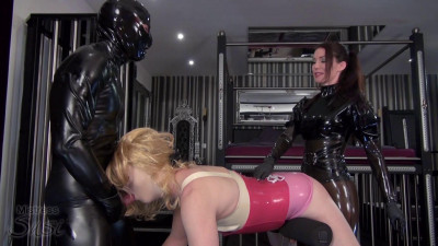 The Two Hole Sissy Slut Surprised By Ms And A Rubberguy
