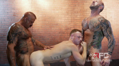 Raw Fuck Club – Saxon West, Jon Galt and Vic Rocco