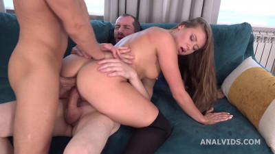 My First dp, Milady gets two dicks with Balls Dap