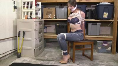 Terra Mizu-Baby sitter found bound and gagged in the garage!