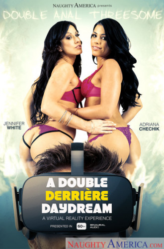 Adriana Chechik and Jennifer White — A Double Derriere Daydream