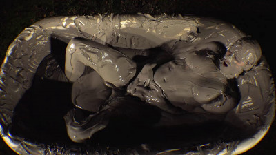 Ashley Point of View Tease in the Mud Tub (2018)