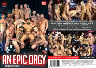 Description Skyn Men Media – An Epic Orgy(2019)