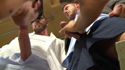 Dragon Media – Working-class Stiff – Scene 5 – Rocco Steele, Hans Berlin & Brett Cox