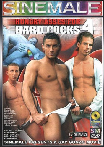 Hungry Asses For Hard Cocks Vol. 4