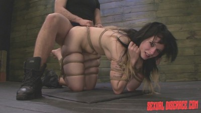 Montana Sky's First Porn Video in Bondage for the Sybian & Rough Sex
