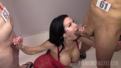 Veronica Avluv 2nd bukkake