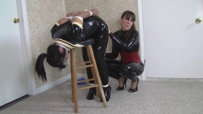 GiGi and Elizabeth Andrews - Vibrated Maid Gets Her Bonus