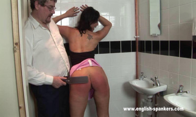 English-spankers - Sasha Harvey works in her local night club