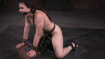 Fresh Faced Amy Faye Bound On Sybian And Throat Trained By Hard Cock, Multiple Orgasms (2015)