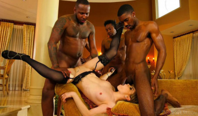 Black Gangbang Party For Pretty Slut Bobbi Dylan