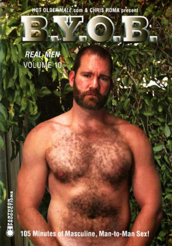 Real Men Vol. 10 B.y.o.b. — Hawk McAllistar, Clint Taylor, Ben Archer