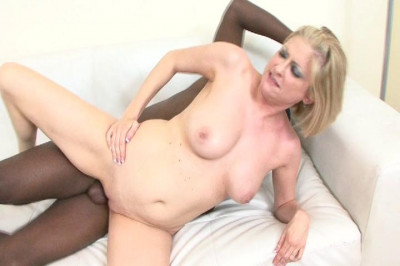 Blonde Mom Drilled by Black Dick
