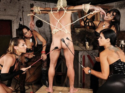 Description Latex Clad Slave Abused In The Dungeon