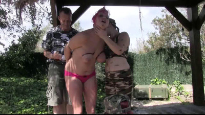 Description Toaxxx - (tx257) Outdoor breast torture for Nova Pink - August 13, 2016