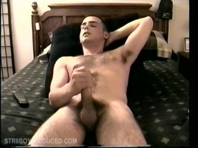 Straight Boy Casey Beating Off