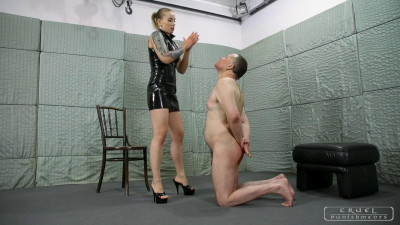 Mistress Anette - Red Marks On His Face