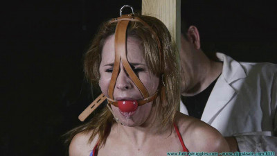 Chrissy Daniels Captured and Tamed 2 part — Extreme, Bondage, Caning