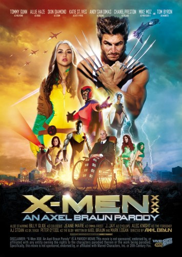 Description X-Men XXX: An Axel Braun Parody