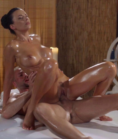Shalina Devine - Oily cock massage with hot Romanian FullHD 1080p
