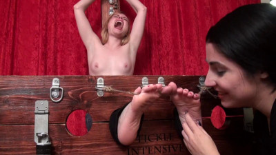Tickle Intensive - Sexy Stella Topless and Tortured