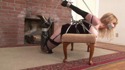 Bound and Gagged - Strict Strappado for Lorelei