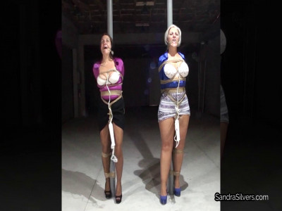 Strictly Pole-tied Topless MILFs get Rewarded, and Punished