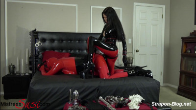 Mistress Susi - Strapon Training The Feminized Rubberdoll